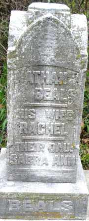 BEALS, NATHAN - Warren County, Ohio | NATHAN BEALS - Ohio Gravestone Photos