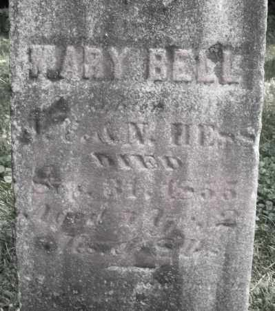 BELL, MARY - Warren County, Ohio | MARY BELL - Ohio Gravestone Photos