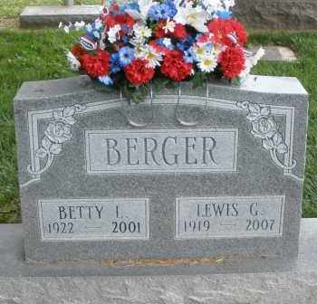 BERGER, LEWIS G. - Warren County, Ohio | LEWIS G. BERGER - Ohio Gravestone Photos