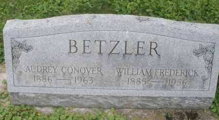 BETZLER, WILLIAM FREDERICK - Warren County, Ohio | WILLIAM FREDERICK BETZLER - Ohio Gravestone Photos