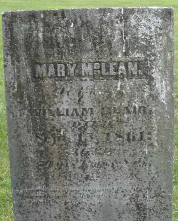 MCLEAN BLAIR, MARY - Warren County, Ohio | MARY MCLEAN BLAIR - Ohio Gravestone Photos