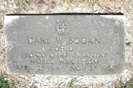 BOGAN, CARL W. - Warren County, Ohio | CARL W. BOGAN - Ohio Gravestone Photos