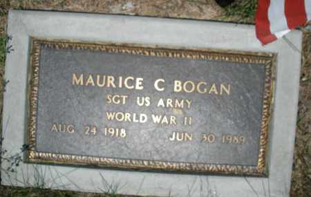 BOGAN, MAURICE C. - Warren County, Ohio | MAURICE C. BOGAN - Ohio Gravestone Photos