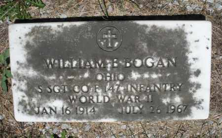 BOGAN, WILLIAM - Warren County, Ohio | WILLIAM BOGAN - Ohio Gravestone Photos