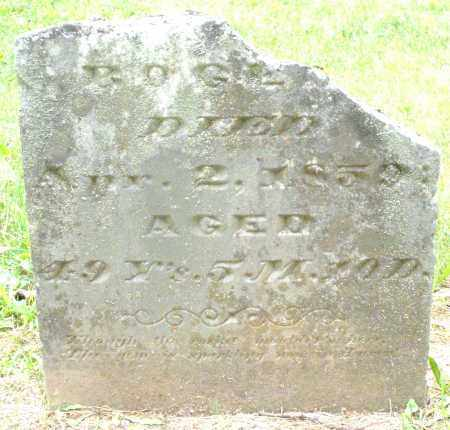 BOGER, UNKNOWN - Warren County, Ohio | UNKNOWN BOGER - Ohio Gravestone Photos