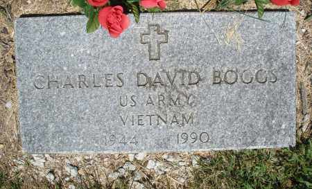 BOGGS, CHARLES DAVID - Warren County, Ohio | CHARLES DAVID BOGGS - Ohio Gravestone Photos