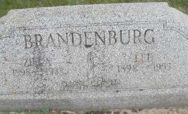 BRANDENBURG, ZILLA - Warren County, Ohio | ZILLA BRANDENBURG - Ohio Gravestone Photos
