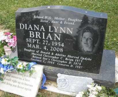 BRIAN, DIANA LYNN - Warren County, Ohio | DIANA LYNN BRIAN - Ohio Gravestone Photos