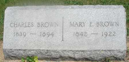 BROWN, CHARLES - Warren County, Ohio | CHARLES BROWN - Ohio Gravestone Photos