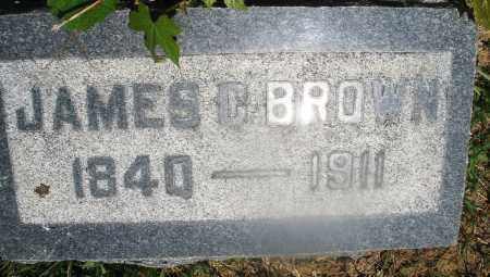 BROWN, JAMES C. - Warren County, Ohio | JAMES C. BROWN - Ohio Gravestone Photos