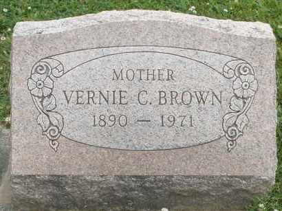 BROWN, VERNIE C. - Warren County, Ohio | VERNIE C. BROWN - Ohio Gravestone Photos