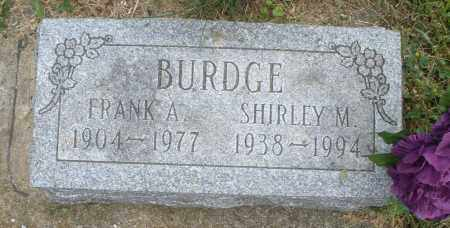 BURDGE, SHIRLEY M. - Warren County, Ohio | SHIRLEY M. BURDGE - Ohio Gravestone Photos