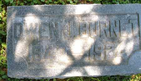 BURNET, OWEN J. - Warren County, Ohio | OWEN J. BURNET - Ohio Gravestone Photos