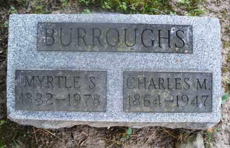 BURROUGHS, CHARLES M. - Warren County, Ohio | CHARLES M. BURROUGHS - Ohio Gravestone Photos