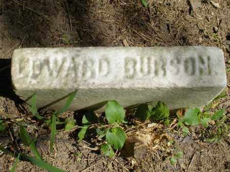 BURSON, EDWARD - Warren County, Ohio | EDWARD BURSON - Ohio Gravestone Photos