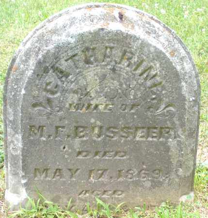 BUSSEER, CATHARINE - Warren County, Ohio | CATHARINE BUSSEER - Ohio Gravestone Photos