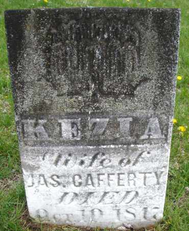 CAFFERTY, KEZIA - Warren County, Ohio | KEZIA CAFFERTY - Ohio Gravestone Photos