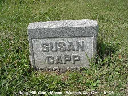 BURSK CAPP, SUSAN - Warren County, Ohio | SUSAN BURSK CAPP - Ohio Gravestone Photos