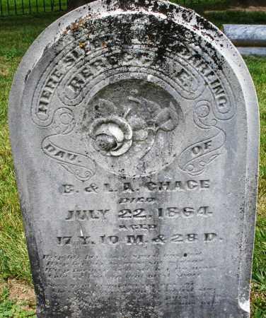 CHAGE/GHAGE, REBECCA E. - Warren County, Ohio | REBECCA E. CHAGE/GHAGE - Ohio Gravestone Photos