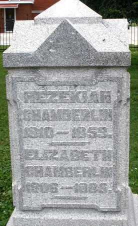 CHAMBERLIN, ELIZABETH - Warren County, Ohio | ELIZABETH CHAMBERLIN - Ohio Gravestone Photos