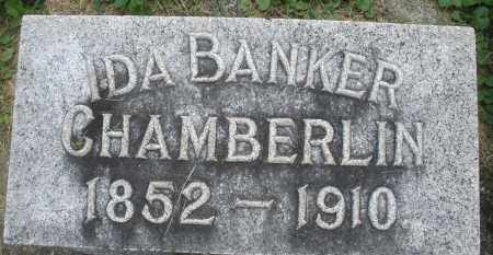 BANKER CHAMBERLIN, IDA - Warren County, Ohio | IDA BANKER CHAMBERLIN - Ohio Gravestone Photos