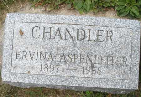ASPENLEITER CHANDLER, ERVINA - Warren County, Ohio | ERVINA ASPENLEITER CHANDLER - Ohio Gravestone Photos