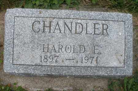 CHANDLER, HAROLD E. - Warren County, Ohio | HAROLD E. CHANDLER - Ohio Gravestone Photos