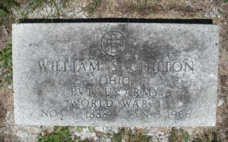 CHILTON, WILLIAM S. - Warren County, Ohio | WILLIAM S. CHILTON - Ohio Gravestone Photos