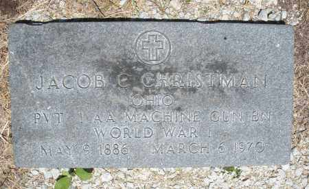 CHRISTMAN, JACOB C. - Warren County, Ohio | JACOB C. CHRISTMAN - Ohio Gravestone Photos