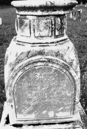 CLARK, ALMON NELSON - Warren County, Ohio | ALMON NELSON CLARK - Ohio Gravestone Photos