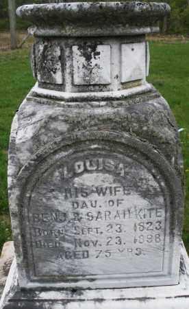 CLARK, LOUISA - Warren County, Ohio | LOUISA CLARK - Ohio Gravestone Photos