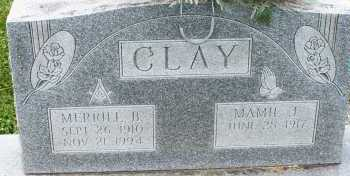 CLAY, MAMIE - Warren County, Ohio | MAMIE CLAY - Ohio Gravestone Photos