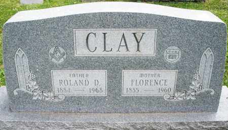 CLAY, ROLAND D - Warren County, Ohio | ROLAND D CLAY - Ohio Gravestone Photos