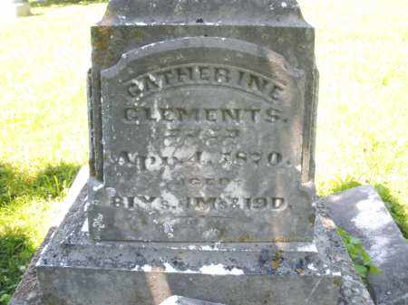 CLEMENTS, CATHERINE - Warren County, Ohio | CATHERINE CLEMENTS - Ohio Gravestone Photos