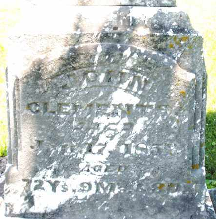CLEMENTS, JOHN - Warren County, Ohio | JOHN CLEMENTS - Ohio Gravestone Photos