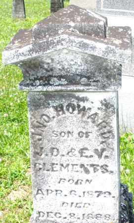 CLEMENTS, JOHN HOWARD - Warren County, Ohio | JOHN HOWARD CLEMENTS - Ohio Gravestone Photos