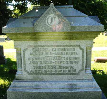 CLEMENTS, SAMUEL - Warren County, Ohio | SAMUEL CLEMENTS - Ohio Gravestone Photos