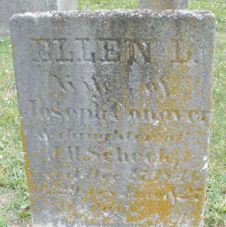 CONOVER, ELLEN L - Warren County, Ohio | ELLEN L CONOVER - Ohio Gravestone Photos
