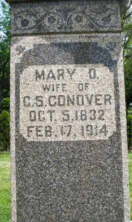 CONOVER, MARY D. - Warren County, Ohio | MARY D. CONOVER - Ohio Gravestone Photos