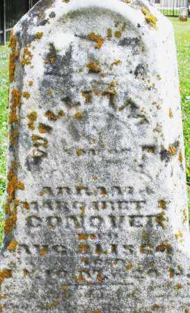 CONOVER, WILLIAM - Warren County, Ohio   WILLIAM CONOVER - Ohio Gravestone Photos