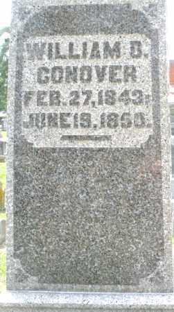 CONOVER, WILLIAM B. - Warren County, Ohio | WILLIAM B. CONOVER - Ohio Gravestone Photos
