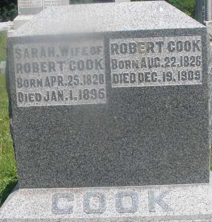COOK, SARAH - Warren County, Ohio | SARAH COOK - Ohio Gravestone Photos