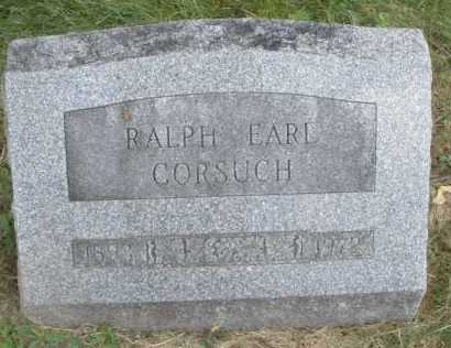 CORSUCH, RALPH EARL - Warren County, Ohio | RALPH EARL CORSUCH - Ohio Gravestone Photos