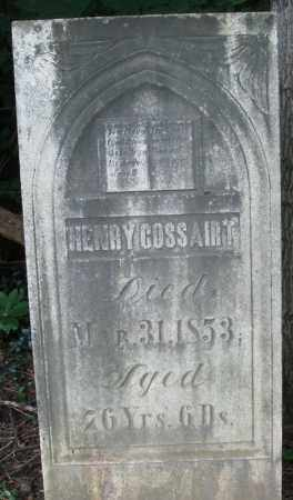 COSSAIRT, HENRY - Warren County, Ohio | HENRY COSSAIRT - Ohio Gravestone Photos