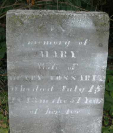 COSSAIRT, MARY - Warren County, Ohio | MARY COSSAIRT - Ohio Gravestone Photos