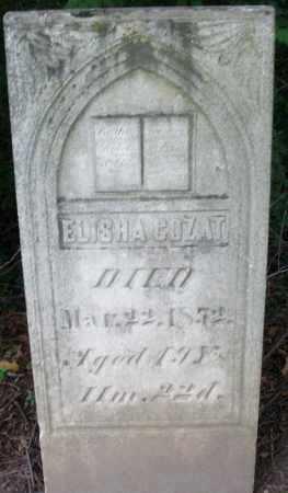 COZAT, ELISHA - Warren County, Ohio | ELISHA COZAT - Ohio Gravestone Photos