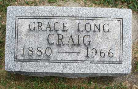 LONG CRAIG, GRACE - Warren County, Ohio | GRACE LONG CRAIG - Ohio Gravestone Photos