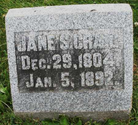 CRAIL, JANE S. - Warren County, Ohio | JANE S. CRAIL - Ohio Gravestone Photos