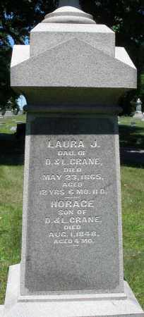 CRANE, LAURA J. - Warren County, Ohio | LAURA J. CRANE - Ohio Gravestone Photos