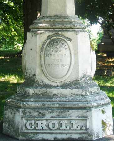 CROLL, LEVI - Warren County, Ohio | LEVI CROLL - Ohio Gravestone Photos